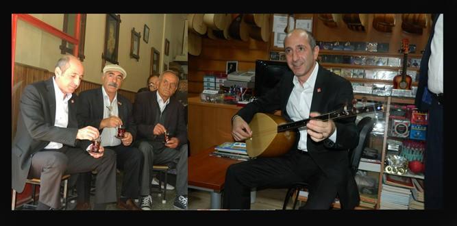 CHP'li Öztunç Baba Ocağı Elbistan'da