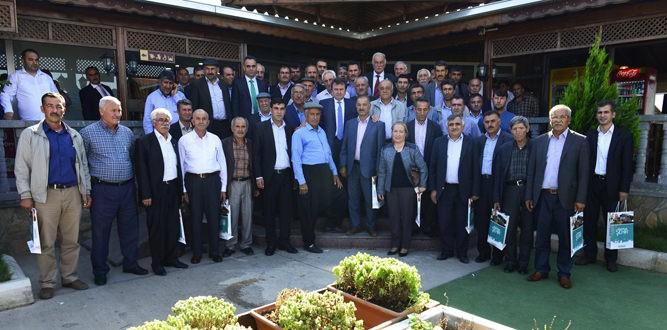 Başkan Erkoç Pazarcık'ta Muhtarlarla Buluştu