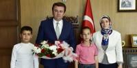 Başkan Erkoç'a Öğrencilerden Ziyaret