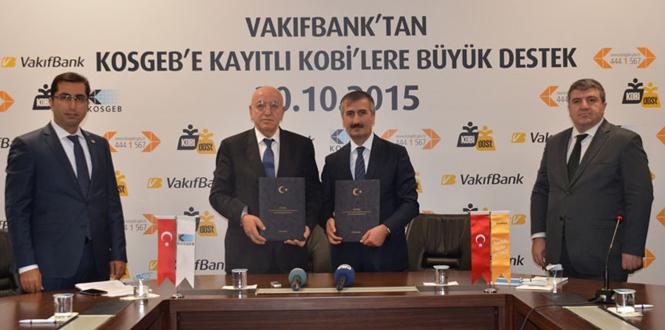 VakıfBank ve KOSGEB güçlerini KOBİ'ler için birleştirdi