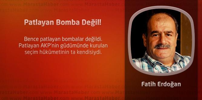 Patlayan Bomba Değil!