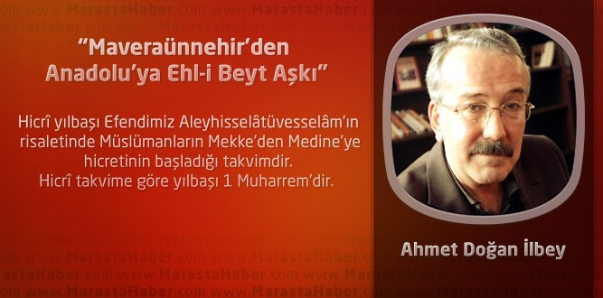 """Maveraünnehir'den Anadolu'ya Ehl-i Beyt Aşkı"""