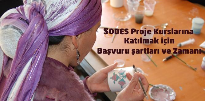 Onikişubat İlçe MEM'in SODES Proje Kursları Başlıyor