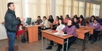 KSÜ'den Azerbaycan'da Öğretmenlere  Seminer