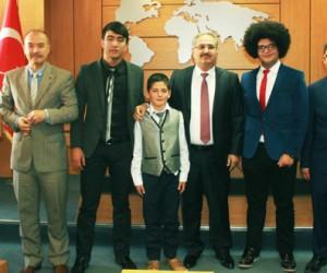 Kahramanmaraş, Öğrenci Meclisi Başkanı'nı Seçti