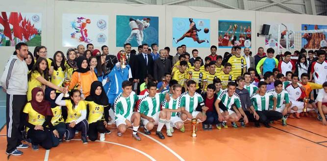 Elbistan'da Futsal Şampiyonu Belli Oldu