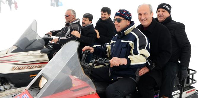 Dulkadiroğlu Kar Festivaline Hazırlanıyor