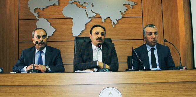 Millî Eğitim Müdürü Akkurt, Özel Okul Müdürleriyle Toplantı Yaptı