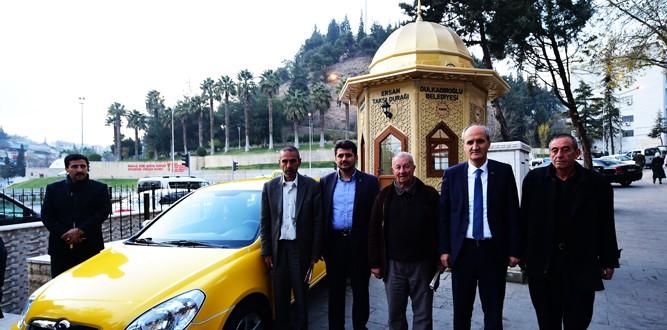Taksi Durakları Tarihi Dokuya Uygun Yenilendi