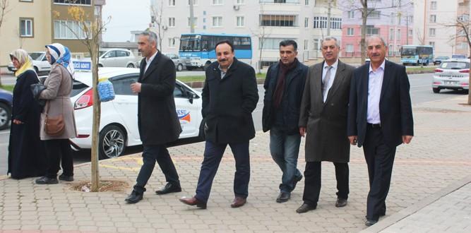 Kahramanmaraş'ta Ehliyet (Direksiyon) Sınavı Yapılıyor