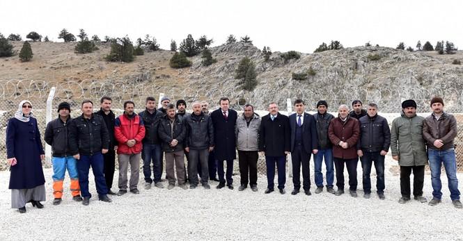 """Başkan Erkoç: """"Göksun'u 100 yıllık içmesuyuna kavuşturduk"""""""