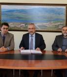 KSÜ Türkoğlu Arapça İlahiyat Programı Binası İçin İlk İmzalar Atıldı