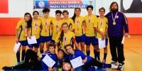Futsal Türkiye Şampiyonası Yarı Final Maçları İlimizde Yapıldı