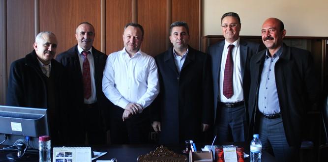 Okul Yöneticileri Mustafa Bardak'ı Ziyaret Ettiler