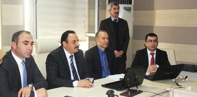 EBA Toplantısı İlçe Millî Eğitim Şube Müdürleriyle Yapıldı