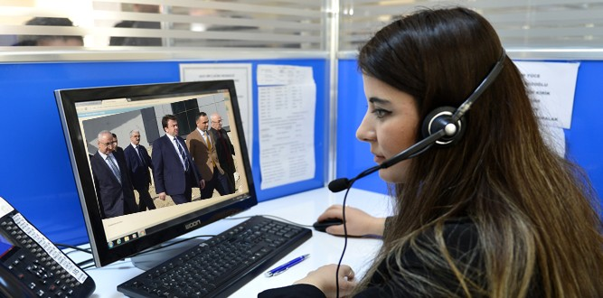 Başkan Erkoç Kaski'de İncelemelerde Bulundu
