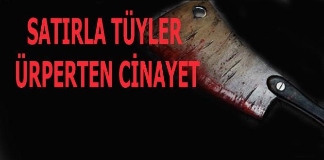 Kahramanmaraş'ta Tüyler Ürperten Cinayet