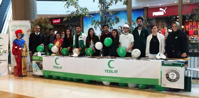 Kahramanmaraş'ta Yeşilay Haftası Etkinlikleri Başladı