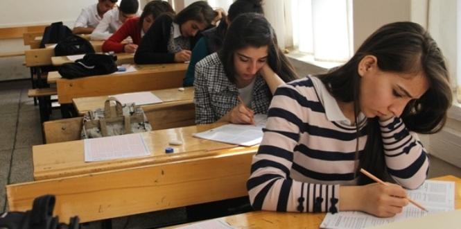 Kahramanmaraş'ta YGS Deneme Sınavı