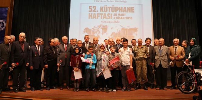 Kahramanmara'ta 52.Kütüphane Haftası Kutlandı