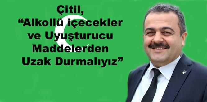 Milletvekili Çitil'in Yeşilay Haftası Mesajı