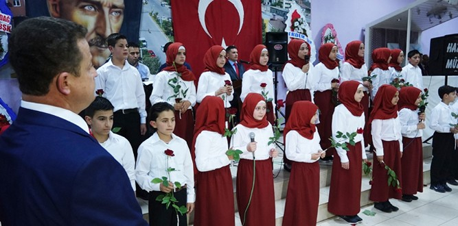 Pazarcık'ta Muhteşem Kutlu Doğum Etkinliği