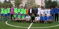 Futbol turnuvası II. Etap maçları başladı