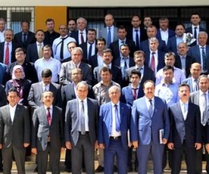 Pazarcık'ta İl Mesleki Koordinasyon Kurulu Toplandı
