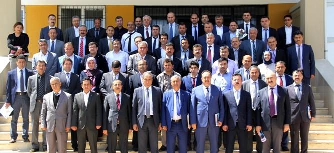 İl Mesleki Koordinasyon Kurulu Pazarcık'ta Toplandı