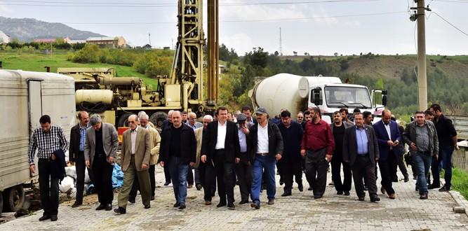 Ilıca'da Başkan Erkoç'a Yoğun İlgi