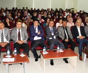 Kahramanmaraş'ta Aday Öğretmenlere N. Fazıl Kısakürek Anlatıldı