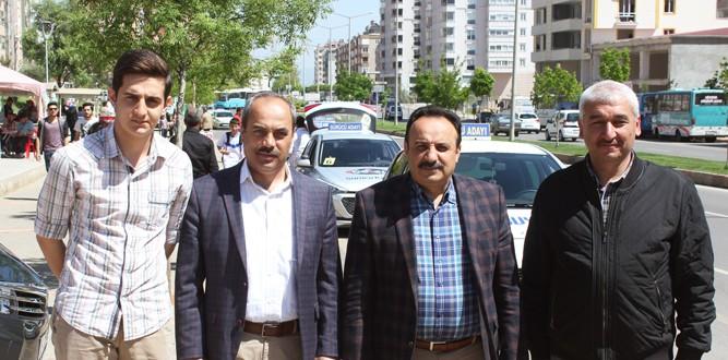 Kahramanmaraş'ta Direksiyon Sınavı Heyecanı