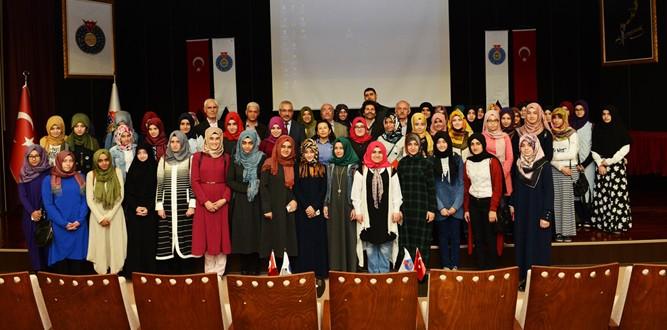 Rektör Deveci, Osmaniye Kız AİH Lisesi'ni ağırladı