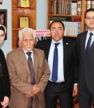 Bahaettin Karakoç İlkokulundan Şair Karakoç'a ziyaret