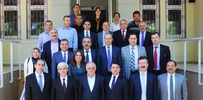 Pazarcık'ta Okul Müdürlerine 0-18 Yaş Aile Eğitimi