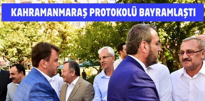 Kahramanmaraş'ta Protokol Halkla Bayramlaştı