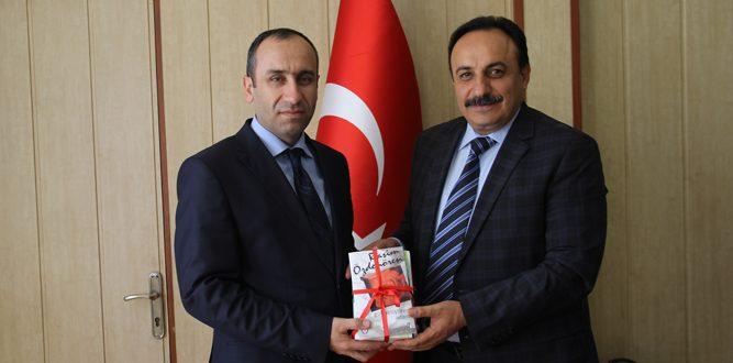 MEB Daire Başkanı Yasin Vural'dan  Akkurt'a Ziyaret