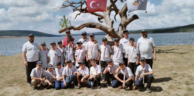Kahramanmaraşlı İzciler Bolu Aladağ'da Kamp Yaptılar