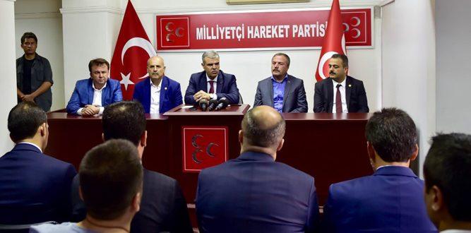 Kahramanmaraş'ta Siyasi Parti Bayramlaşmaları