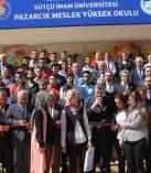 Pazarcık'ta KSÜ- Meslek Yüksekokulu Binasının Açılışı Yapıldı