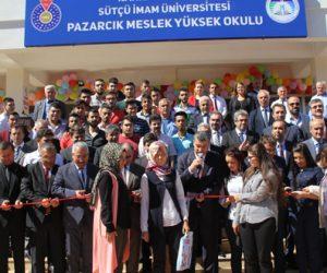KSÜ Pazarcık Meslek Yüksekokulu Yeni Binasına Kavuştu