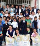 Dulkadiroğlu Belediyesinden Eğitime Kırtasiye Desteği