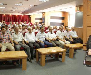 Milli Eğitim Müdürü Akkurt Personeli İle Bayramlaştı