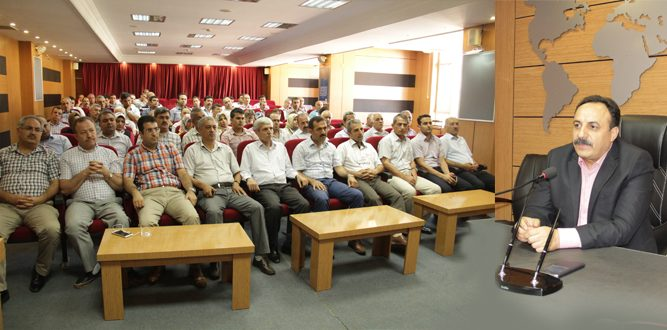 İl Millî Eğitim Müdürlüğünde Personelle Bayramlaşma Töreni