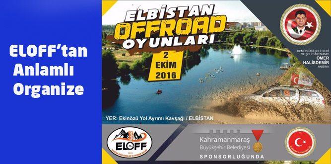 ELOFF'tan Demokrasi Şehitleri İçin Etkinlik