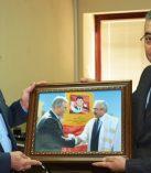 Rektör Deveci, Basın ve Halkla İlişkiler Müdürü Salman'ı Ziyaret Etti