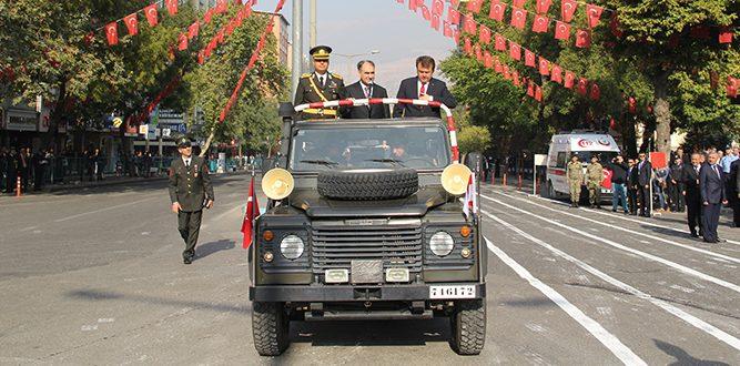 Kahramanmaraş'ta 29 Ekim Cumhuriyet Bayramının 93. Yıl Coşkusu