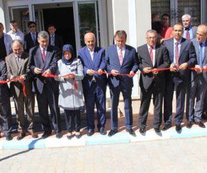 Pazarcık'ta Doğalgaz ve Eğitim Kurumlarının Açılışı Yapıldı