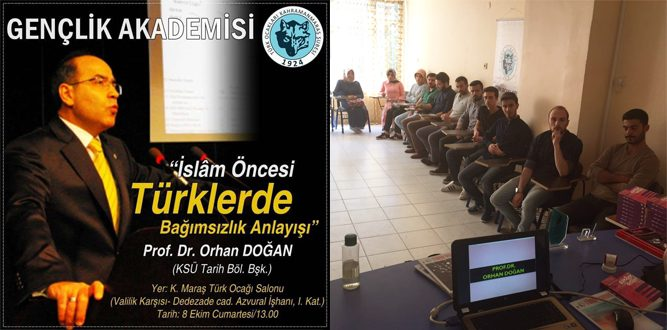 Kahramanmaraş Türk Ocağı'ndan Konferans