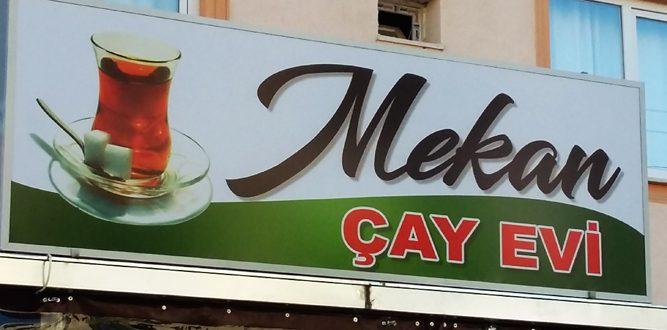 Mekan Çay ve Okey Salonunu Gördünüz mü?